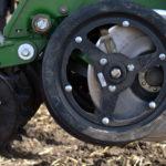 gauge wheels on equipment